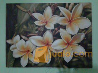 Lukisan Bunga Nuansa Bali Tangerang Selatan Jualo