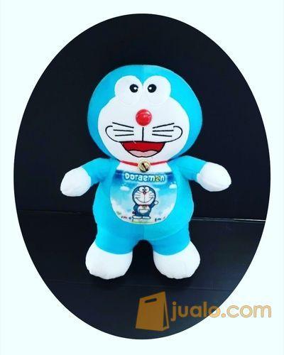 """Boneka Doraemon VTR Standing / berdiri ukuran M 15"""" inchi kurleb 40cm 70rb (6595117) di Kota Jakarta Selatan"""