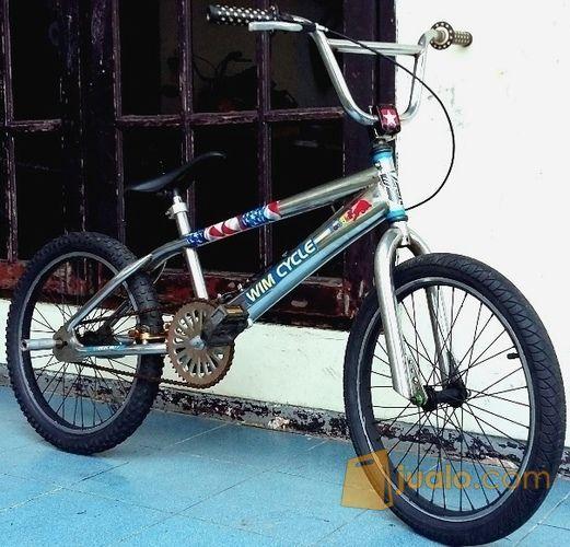 Bmx Keren Stainless Merek Wim Cycle Size 20 Inch Jakarta Timur Jualo