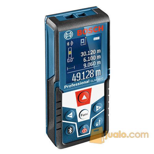 Meteran Laser Digital Bosch GLM 50 C with Bluetooth (6916013) di Kota Jakarta Barat