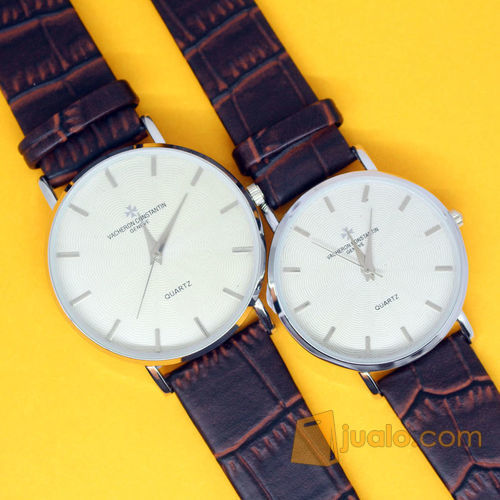 JAM TANGAN KALEP KULIT COUPLE WATCH GROSIR CKO562 (7091977) di Kab. Jember