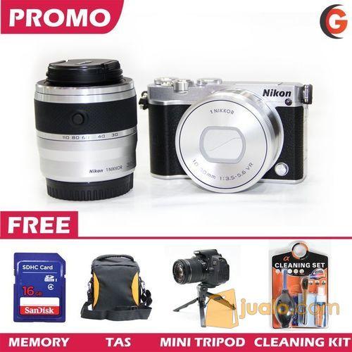 Nikon 1 J5 Double Kit 10-30 + 30-110 Promo Paket Lengkap (7347443) di Kota Tangerang