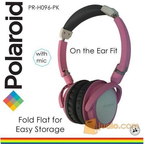 Polaroid headphone with foldable & soft ear pad on ear headset H096-PK (7469497) di Kota Jakarta Barat
