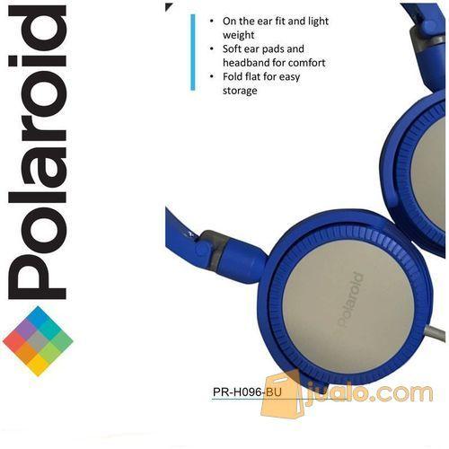 Polaroid headphone with foldable & soft ear pad on ear headset H096-BU (7469931) di Kota Jakarta Barat