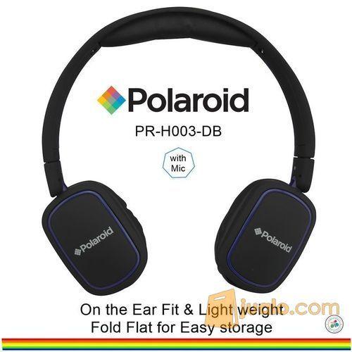 Polaroid headphone On Ear w/ light weight,soft ear pad headset H003-DB (7470019) di Kota Jakarta Barat