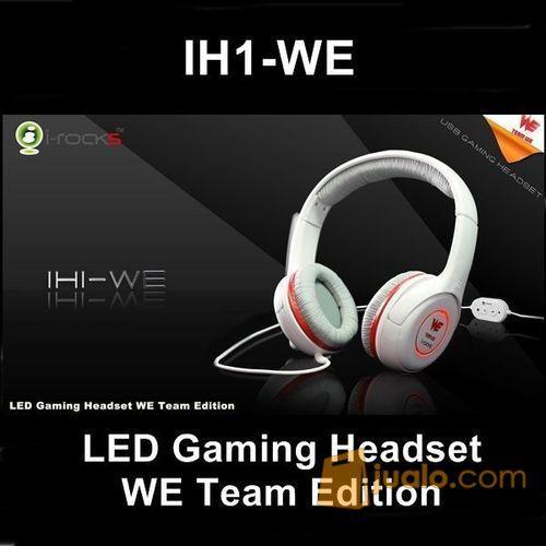 i-Rocks Gaming headset LED light+volume control IH1-WE-S (7470573) di Kota Jakarta Barat