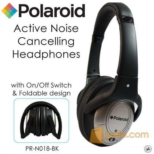 Polaroid Super Bass, foldable Noise canceling headphone headset PRN018 (7471667) di Kota Jakarta Barat
