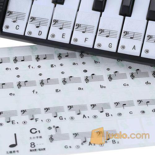 Stiker sticker nada d alat musik mixer dan microphones 7477711