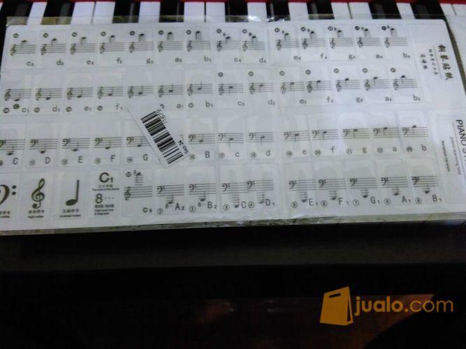 Aksesoris Stiker Nada Notasi Balok Pada Tuts Piano Dan Keyboard Murah (7477887) di Kota Yogyakarta