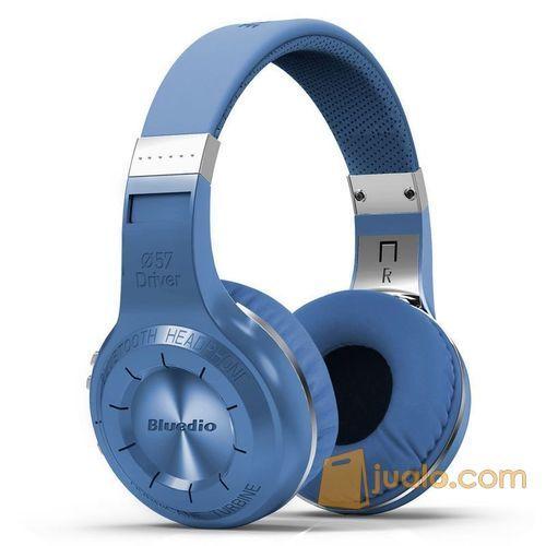 Original Bluedio H+ Turbine Hurricane Wireless Bluetooth Headphone (7543681) di Kota Jakarta Barat