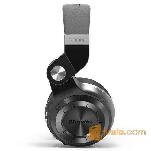 Original Bluedio T2+ Turbine Hurricane Wireless Bluetooth Headphone (7545637) di Kota Jakarta Barat