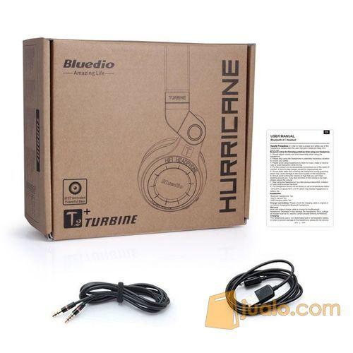 Original Bluedio T2+ Turbine Hurricane Wireless Bluetooth Headphone (7545641) di Kota Jakarta Barat