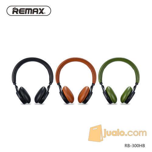 Original REMAX Bluetooth Headphone with Touch Control RB-300HB (7546173) di Kota Jakarta Barat