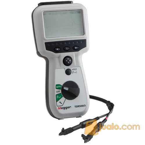 Jual Megger TDR500/3 Handheld Time Domain Reflectometer (7722429) di Kota Depok