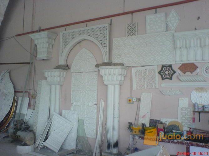 Grc Kubah Menara Krawangan Ornamen Lisplang Motif Kab Sukabumi