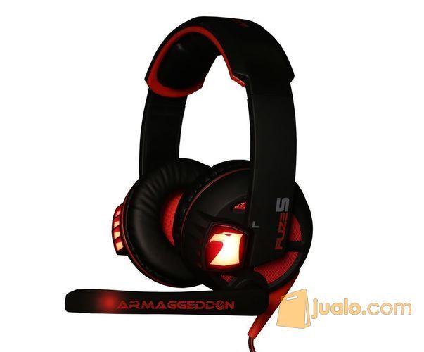 Armaggeddon Fuze 5 Black Red (7865553) di Kota Jakarta Barat