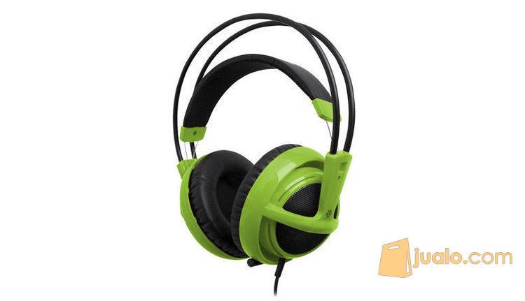 Steelseries Siberia Full-size Headset V2 Green (7868095) di Kota Jakarta Barat