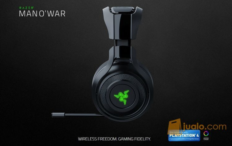 Razer ManO'war - Wireless PC Gaming Headset (7869197) di Kota Jakarta Barat