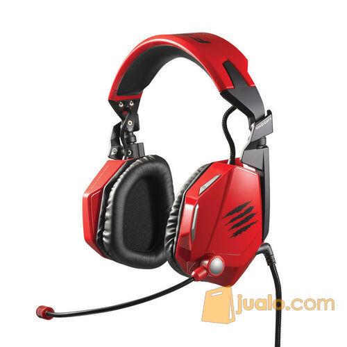 PC MCZ F.R.E.Q.5 Headset Red (7870445) di Kota Jakarta Barat