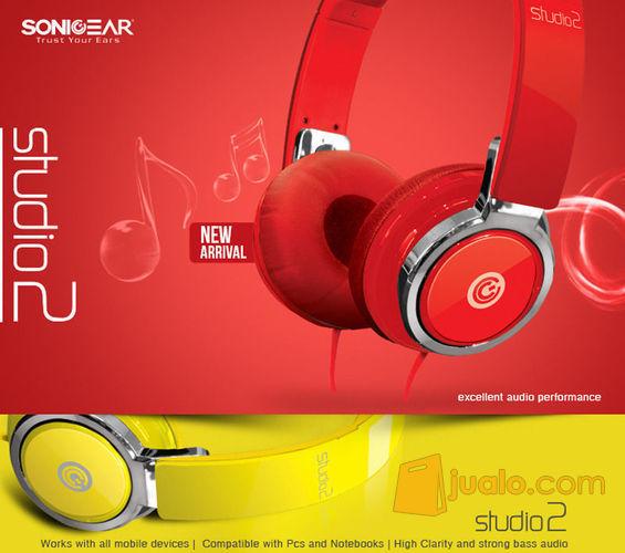 Sonic Gear Earpump Studio 2 Red (7871597) di Kota Jakarta Barat