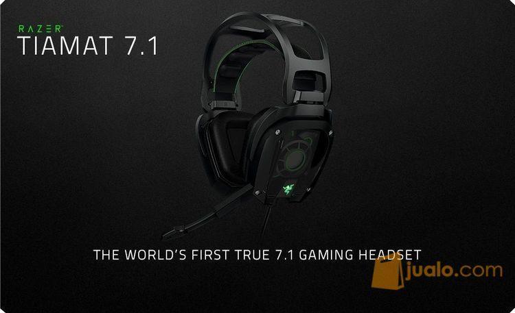 Razer Tiamat 7.1 - Elite Analog 7.1 Surround Sound Gaming Headset (7871749) di Kota Jakarta Barat