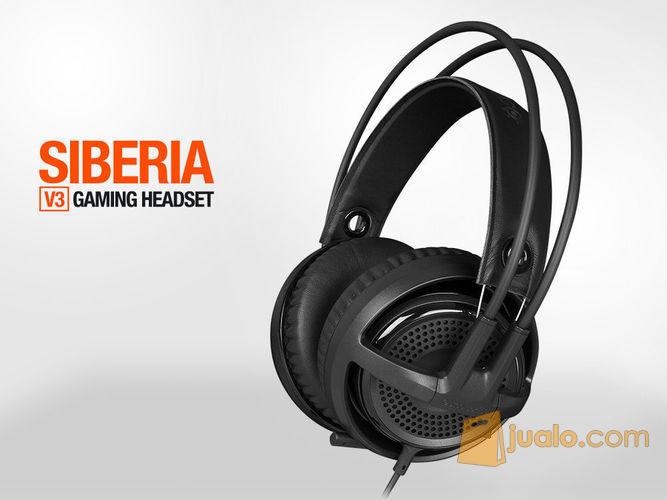 SteelSeries Siberia V3 Black (7872299) di Kota Jakarta Barat