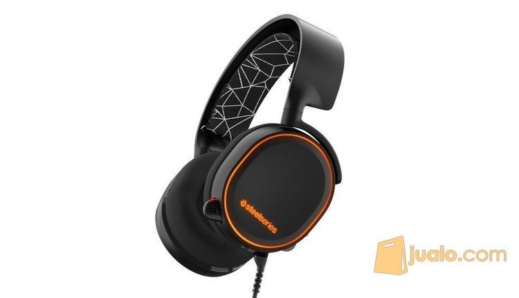 SteelSeries Arctis 5 with 7.1 DTS Headphone:X Black RGB (7873619) di Kota Jakarta Barat