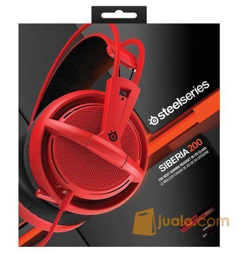 SteelSeries Siberia 200 Red (7873847) di Kota Jakarta Barat