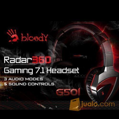 Bloody Gaming Headset G501 - 7.1 Surround (7884809) di Kota Jakarta Barat