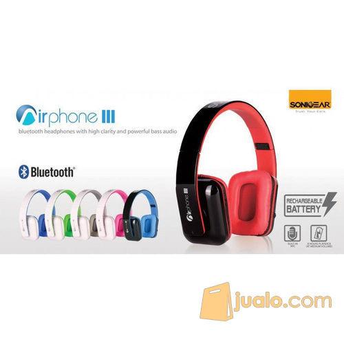 Sonicgear Airphone III Bluetooth Black (7885595) di Kota Jakarta Barat