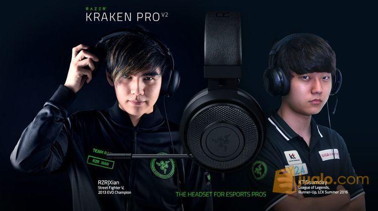 Razer Kraken Pro V2 - Analog Gaming Headset Black (7886151) di Kota Jakarta Barat