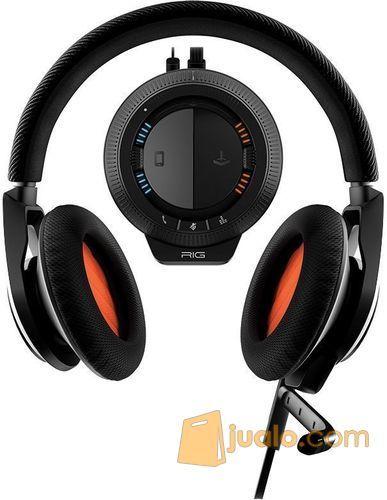 Plantronics Rig System Gaming Headset Black (7887183) di Kota Jakarta Barat
