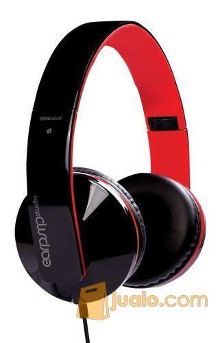 Sonicgear Earpump Studio Black Red (7888023) di Kota Jakarta Barat