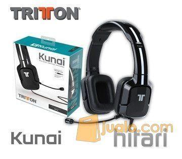 Wii U Tritton Kunai Stereo Headset Black (7889305) di Kota Jakarta Barat