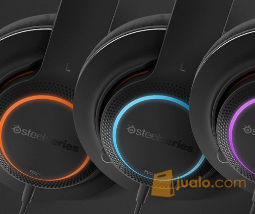 SteelSeries Headset Siberia 150 Black USB (7981497) di Kota Jakarta Barat