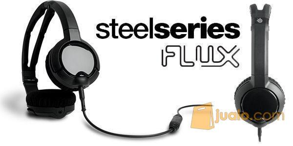 SteelSeries Flux Headset Black / White (7982019) di Kota Jakarta Barat
