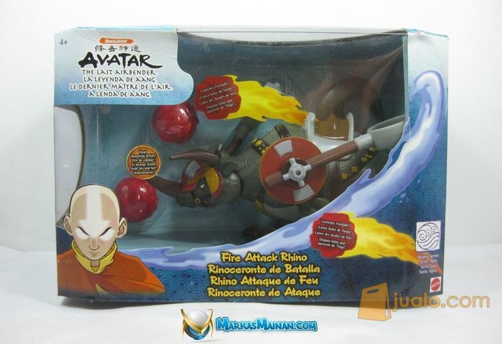 Avatar the Last Airbender Fire Attack Rhino
