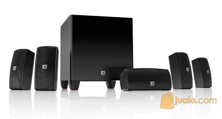 JBL Cinema 610 5.1 Home Theater Speaker System + Receiver HK AVR 151S (8111229) di Kota Medan
