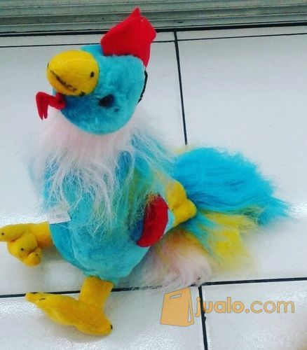 Boneka Ayam al warna biru muda kuning merah lucu unik SNI murah Ecer & grosiran (8144095) di Kota Jakarta Selatan