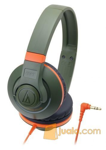 Audio Technica ATH-S300 KH ( EX ) ORANGE / GREEN (8183231) di Kota Jakarta Barat