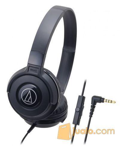 Audio Technica ATH-S100iS BK ( EX ) BLACK (8184307) di Kota Jakarta Barat