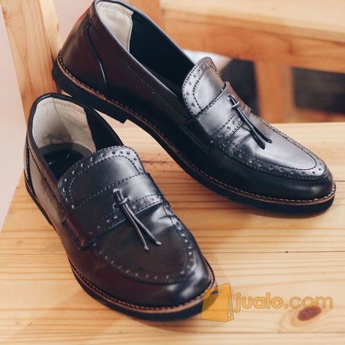Sepatu Giant Flames Pietra Black Sepatu Pria Vintage Bandung Jualo