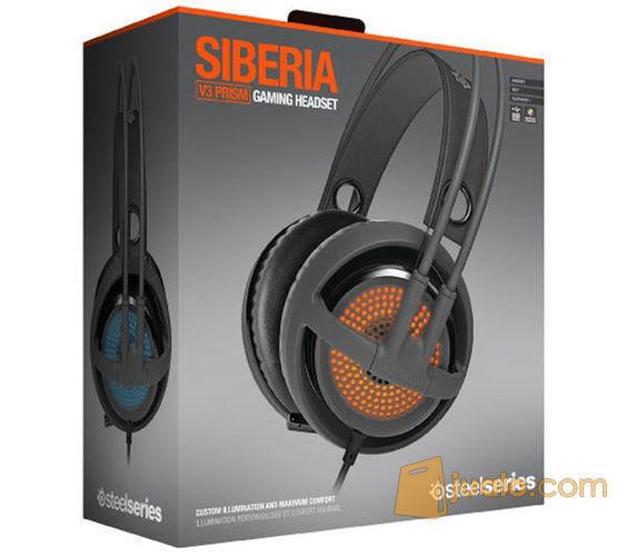 Headset SteelSeries Siberia V3 Prism Grey New!!! (8243449) di Kota Jakarta Barat