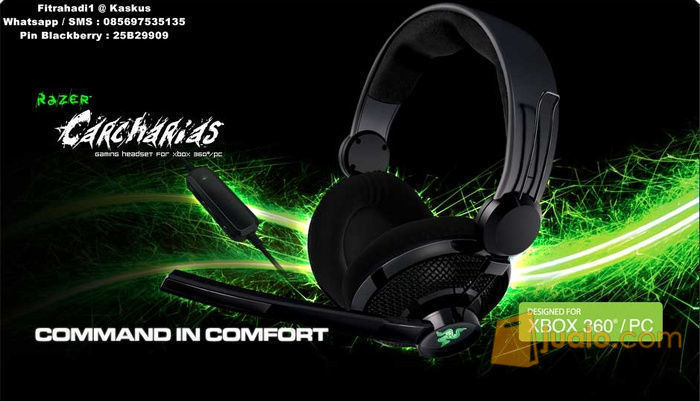 Headset Razer Carcharias 2 Expert Gaming Headset (8243493) di Kota Jakarta Barat