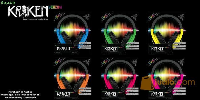 Headset Razer Kraken Neon Series (blue, orange, red, purple, yellow, green) (8243529) di Kota Jakarta Barat