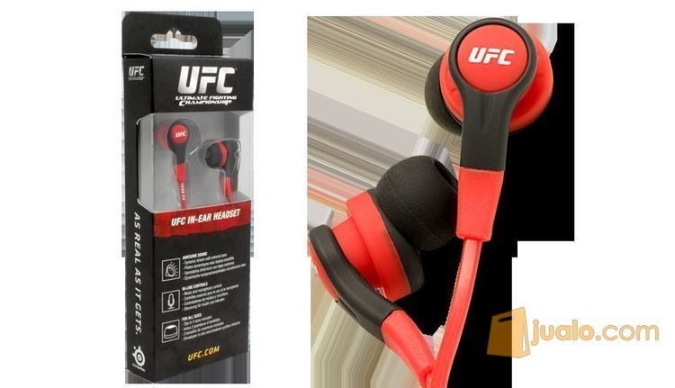 Headset SteelSeries Siberia In-Ear Headphone UFC Edition (8243907) di Kota Jakarta Barat