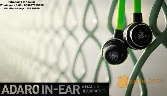 Razer Adaro In Ear (8244395) di Kota Jakarta Barat
