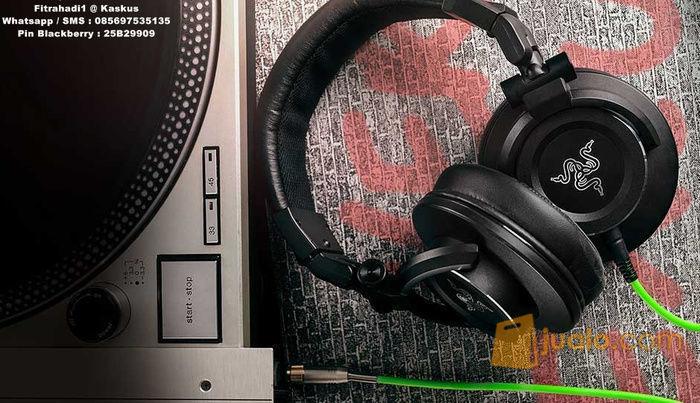 Headset Razer Adaro DJ (8244659) di Kota Jakarta Barat