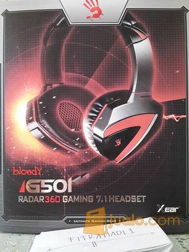 Headset Bloody G501 7.1 (8245179) di Kota Jakarta Barat
