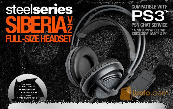 Headset SteelSeries Siberia Full-Size Headset V2 Cross Platform PS3 (8245493) di Kota Jakarta Barat